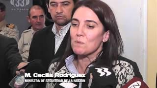 María Cecilia Rodríguez  Ministra de Seguridad de la Nacion
