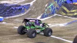Nitro Circus Backflip at Monster Jam Jacksonville Florida