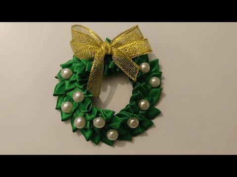 Рождественский  венок, сувенир на магните ❄❂❄  English subtitles смотреть в хорошем качестве