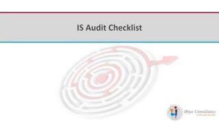 36 IS Audit Checklist Part 1