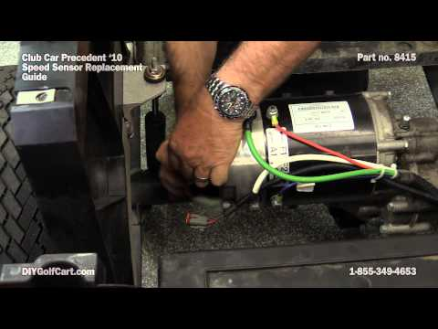 Speed Sensor For Club Car Motor How To Replace On Golf