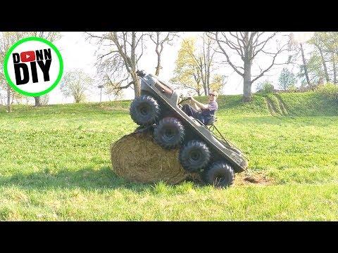 ARGO 8x8 Tracked Swamp Monster
