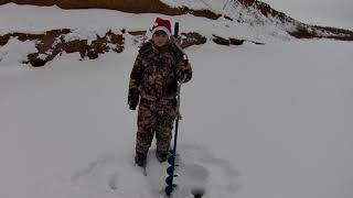 зимняя рыбалка ловля голавля на Урале