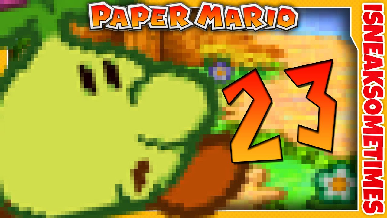 Paper Mario Wii U Vc Part 23 Flower Fields Road To Color