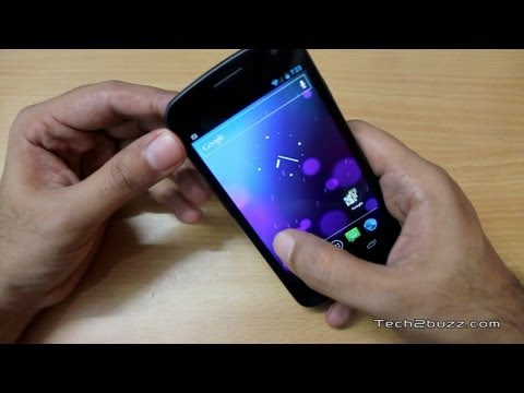 Galaxy Nexus Unboxing and first looks