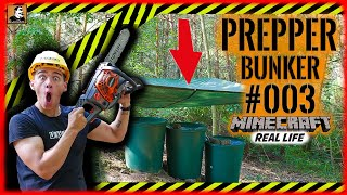 Survival Mattin baut GEHEIMBUNKER #003 | Minecraft in Real Life | Zisterne | PREPPER | SHELTER