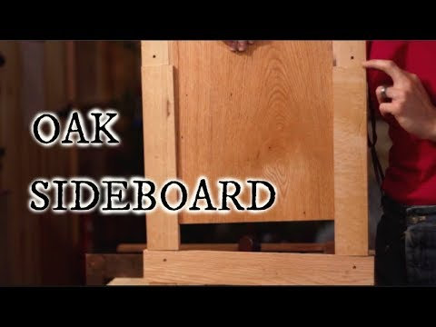 RED OAK SIDEBOARD