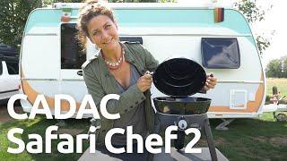 CADAC Safari Chef 2: Zubehör, Funktionen, Auḟbau und Abbau