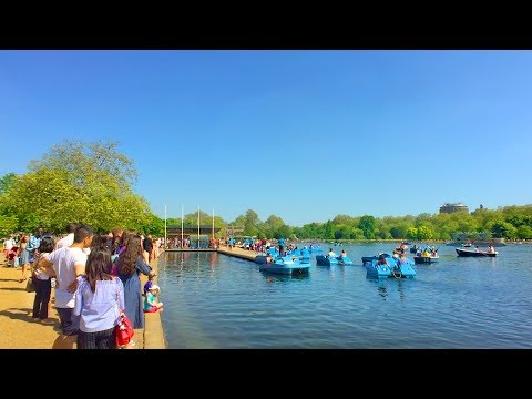 LONDON WALK | Kensington Gardens to Hyde Park incl. Serpentine Sackler Gallery | England