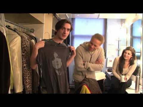 Backstage with the cast of 20th Century Boy  The Musical