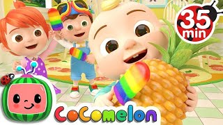Color Song Ice Pop   +More Nursery Rhymes & Kids Songs   CoCoMelon