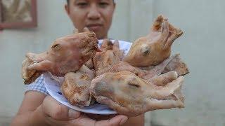 GẶM ĐẦU THỎ - Thú vui ăn uống kỳ quái của Trung Quốc