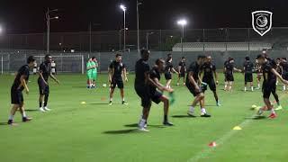 لقطات من استعدادات الدحيل لمباراة الأهلي ضمن الجولة الرابعة من الدوري
