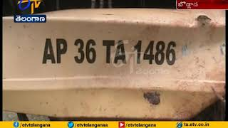School Bus Accident | All Students Safe at Bodlada | in Mahabubabad