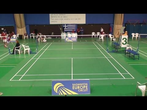 Badminton- International Senior Tournament Sidirokastro - DAY 2