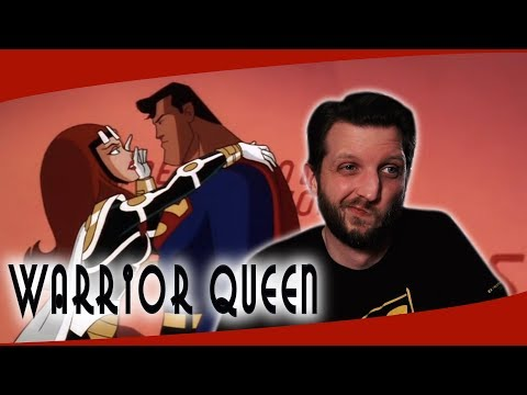 Warrior Queen Falls in Love with Superman Animated Series Re
