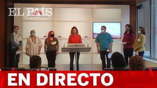 DIRECTO | La CUP, Vox y En Comú Podem ofrecen ruedas de prensa