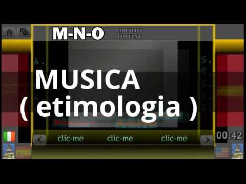 MUSICA ( etimologia ) / etymology and origin of MUSIC