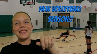 CLUB VOLLEYBALL PRACTICE!! | Sierra Vlogs