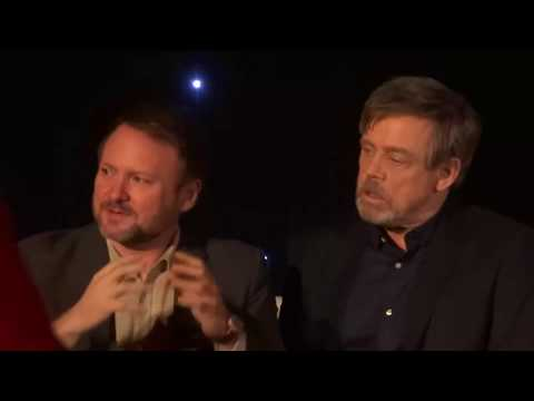 Mark Hamill reacts to the ending of the Last Jedi