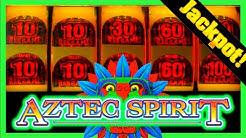 💥 JACKPOT HAND PAY! 💥Aztec Spirit Slot Machine BONUS! 😱 OVER 420 FREE GAMES!