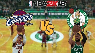 nba-2k18-cleveland-cavaliers-vs-boston-celtics-full-gameplay-updated-rosters