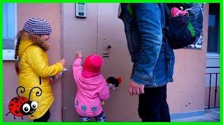 Vlog/ Reactia Melissei la un loc nou de trai/Video cu Copii mici
