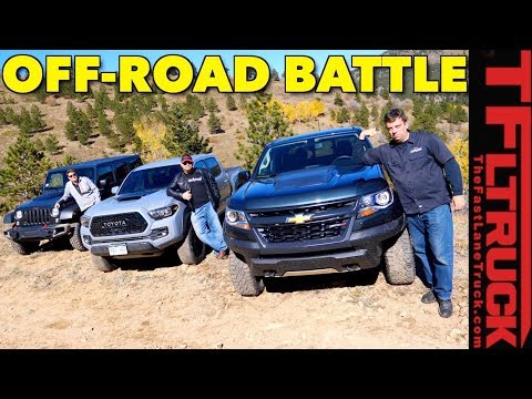 The Benchmark (Wrangler) vs Best Seller (Tacoma) vs Newcomer (ZR2) vs Cliffhanger 2.0