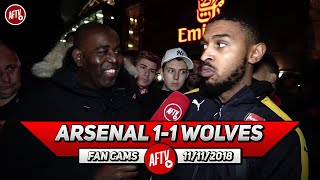 Arsenal 1-1 Wolves | It Was Having 10 Men With Kolasinac Playing! (Status)