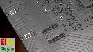 самодельный принтер для нанесения паяльной пасты. Трафарет с PCBWay.ru