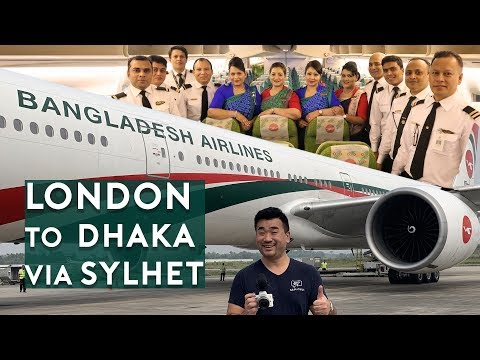 Biman Bangladesh B777-300/ER London to Dhaka (Trip Report Part 1)
