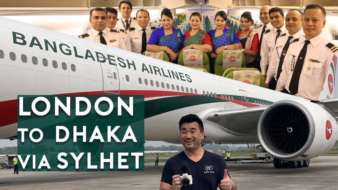Biman Bangladesh B777-300/ER London to Dhaka (Trip Report Part 1)