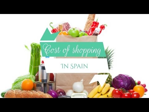 Expat in Spain: Cost of food with examples - 2016