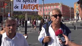 Rassemblement à Nice contre le projet de loi d'obligation vaccinale