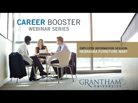 Career Booster Webinar - Employer Information Session:  Nebraska Furniture Mart