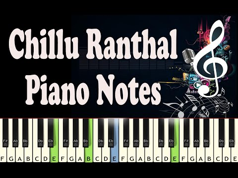 Chillu Ranthal (Kali) Piano Notes - Music Sheet