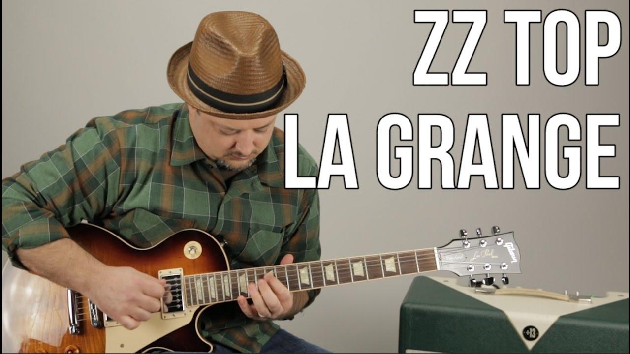ZZ Top La Grange Guitar Lesson + Tutorial