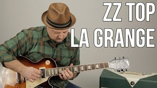How To Play ZZ Top - La Grange