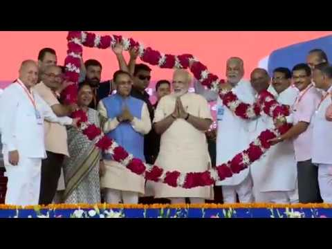 PM Shri Narendra Modi at Sahakar Sammelan in Amreli, Gujarat