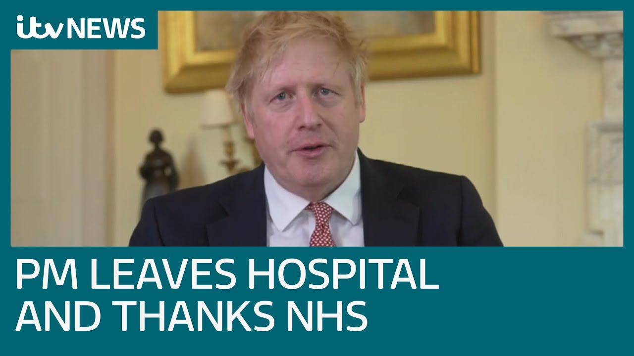 Boris Johnson says 'it could have gone either way' as he thanks NHS for saving his life | ITV News