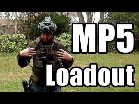 MP5 Loadout - First Spear - 5 11 - Safariland - Blue Force Gear - Pro-Tec