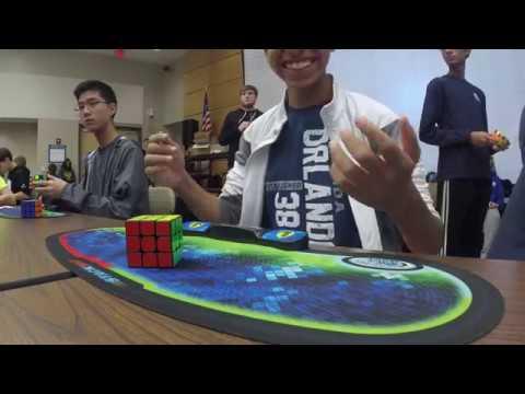 4.69 Rubik's Cube World Record  Patrick Ponce