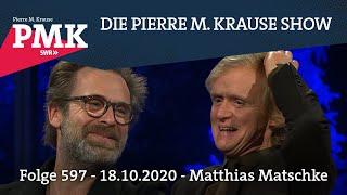 Die Pierre M. Krause Show vom 18.10.2020 mit Matthias und Bosse