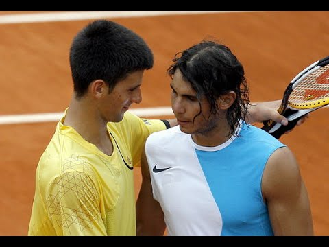 Rafael Nadal Vs Novak Djokovic 2007 RG Highlights