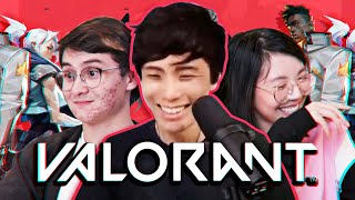 Chaotic VALORANT gameplay with Offline TV