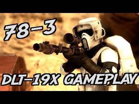 Star Wars Battlefront: DLT-19X gameplay!