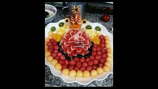 how to slice and decorate fruits,Life hacks with fruits and vegitables