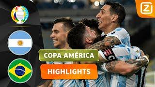 DI MARÍA MAAKT DIT GEWELDIG AF! 🤩🔥 | Argentinië vs Brazilië | Copa América 2021 | Samenvat