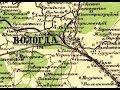 КАРТА ВОЛОГДЫ, И.А. Стрельбицкого. 1890-1920 года
