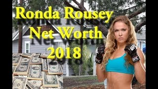 Ronda Rousey Net Worth 2018  Salary Cars
